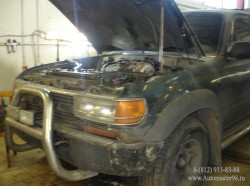 Toyota Land Cruiser 80 Series двигатель (1FZFE)