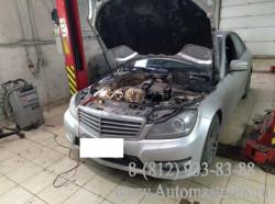 Mercedes-Benz C-Class W204 M274 Замена комплекта цепи ГРМ