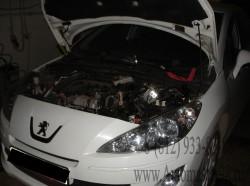 Peugeot 408 1.6 16V (TU5JP5) замена термостата и антифриза