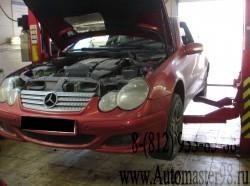 Mercedes-Benz W203 замена масла в АКПП с промывкой