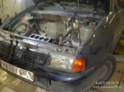 Volkswagen Polo APQ ремонт головки блока цилиндров