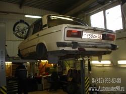ВАЗ 2106 Восстановление подвески после аварии