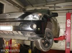 Lexus rx400h ремонт передней части подвески