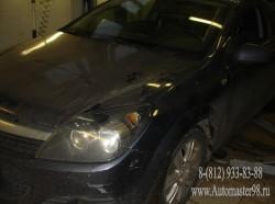 Opel Astra H замена передних пружин