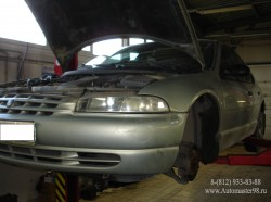 Dodge Stratus ремонт передней части подвески