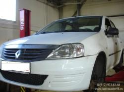 Renault Logan ремонт подвески передних колес