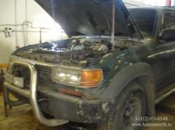 Toyota Land Cruiser 80 Series двигатель (1FZFE)