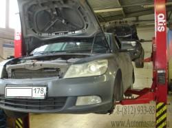 Skoda Octavia ремонт подвески