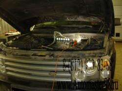 Land Rover Range Rover III 3.0 TD6 (306D1; M 57 D 30) диагностика форсунок