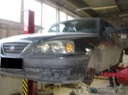 Hyundai Elantra XZ15 ремонт тормозной системы