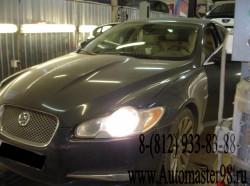 Jaguar XF замена заднего правого опускного стекла