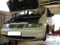 Volkswagen Sharan ремонт передней подвески