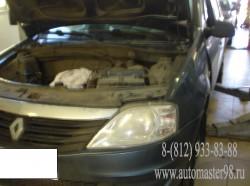 Renault Logan двигатель K7J710 ремонт двигателя и системы охлаждения