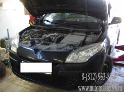 Проведен технический осмотр автомобиля Renault Megane 3
