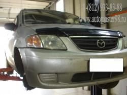 Mazda MPV ремонт трансмиссии и тормозной системы