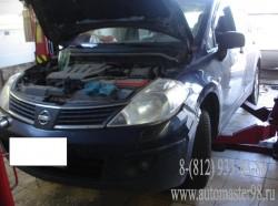 Nissan Tiida техническое обслуживание
