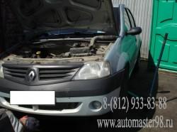 Renault Logan 1.6 K7M 710 замена комплекта ремня ГРМ