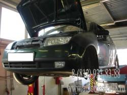 Проведены работы по ремонту трансмиссии в автомобиле Skoda Fabia