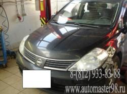 Nissan Tiida ремонт трансмиссии