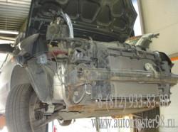 Ford Fusion ремонт переднего бампера