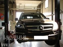 Mercedes-Benz GL 350 CDI 4MATIC ремонт тормозной системы