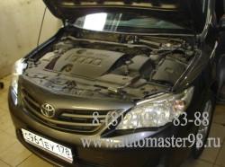 Toyota Corolla ремонт тормозной системы и подвески