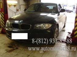 BMW 116i ремонт тормозной системы