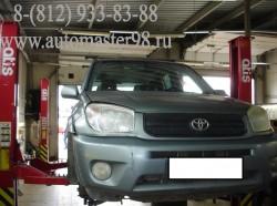 Toyota RAV4 техническое обслуживание