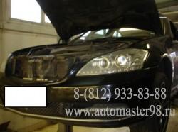 Mercedes-Benz S 350 4MATIC ремонт передней подвески