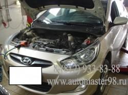Hyundai Solaris двигатель W25G замена АКПП