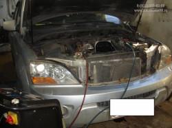 Kia Sorento  2,5D CRDi  D4CB замена комплекта цепи ГРМ