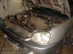 Hyundai Santa Fe HH56 ремонт двигателя