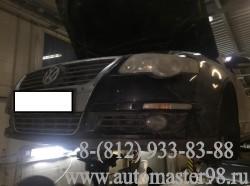 Volkswagen Passat B6 ремонт МКПП JCX и замена двухмассового демпферного маховика