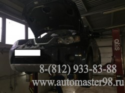 Mitsubishi Outlander 4B12 замена раздаточной коробки
