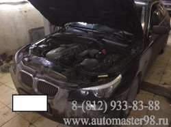 BMW 530iA N52b30 ремонт выхлопной системы