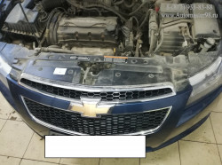 Chevrolet Cruze 1.6л F16D3 ремонт ГБЦ после обрыва ремня ГРМ