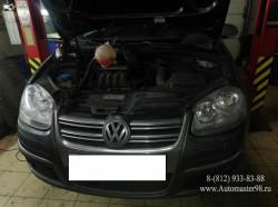 VW Jetta 1.6 BSE замена комплекта ремня ГРМ