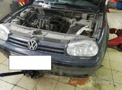 Volkswagen Golf IV 1.6л AKL Замена комплекта ремня ГРМ