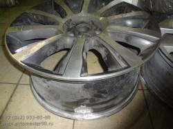 Ремонт колёсного диска Range Rover
