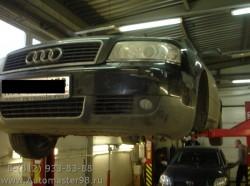 Audi A6 замена переднего левого поворотного кулака