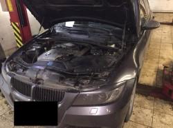 BMW 330 замена комплекта цепи ГРМ мотор N52B30 3.0