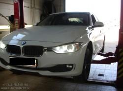 Произведены работы по замене тормозных дисков и колодок на автомобиле BMW
