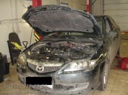 Mazda 6 ремонт двигателя