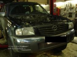 Mazda B2500 замена двигателя WL-T