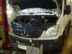 Mercedes Sprinter капитальный ремонт двигателя OM 646