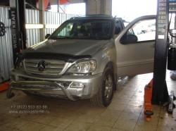 Замена цепи раздатки Mercedes W 163 ML