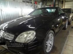 Реставрация Mercedes SLK R-170