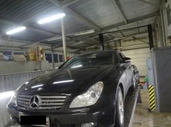 Развал-схождение автомобиля Mercedes CLS