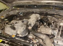 Nissan Navara замена радиатора