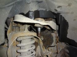 Nissan Navara ремонт передней подвески